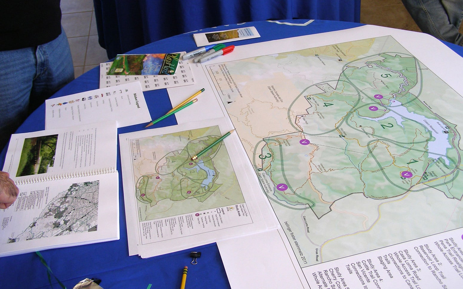Calero County Park Trails Master Plan