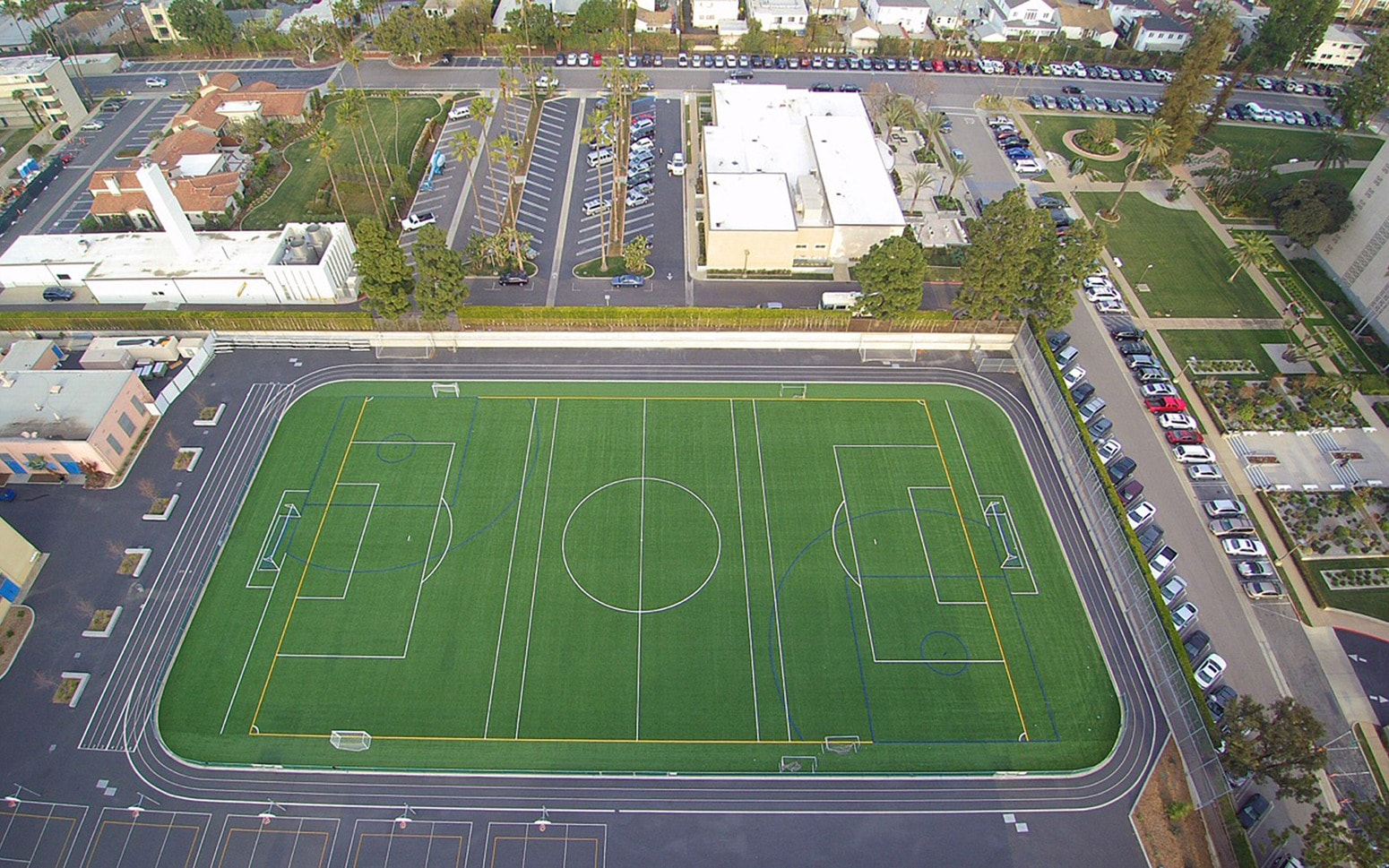 Emerson Middle School Synthetic Turf Conversion