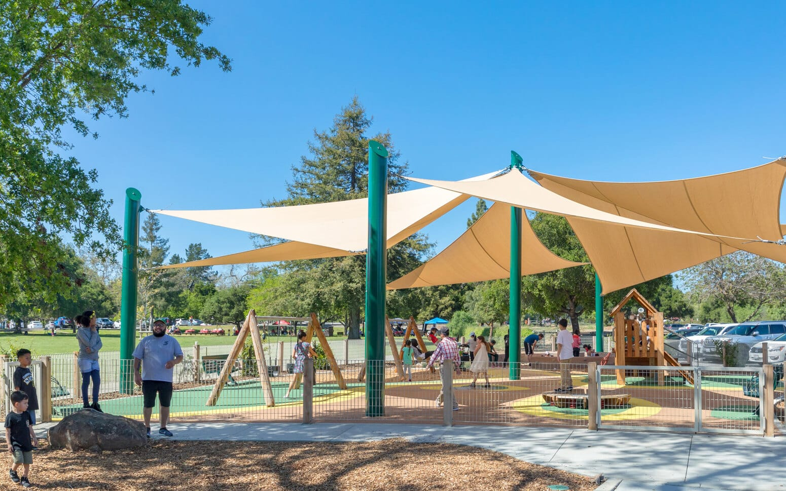 Hellyer County Park Playground