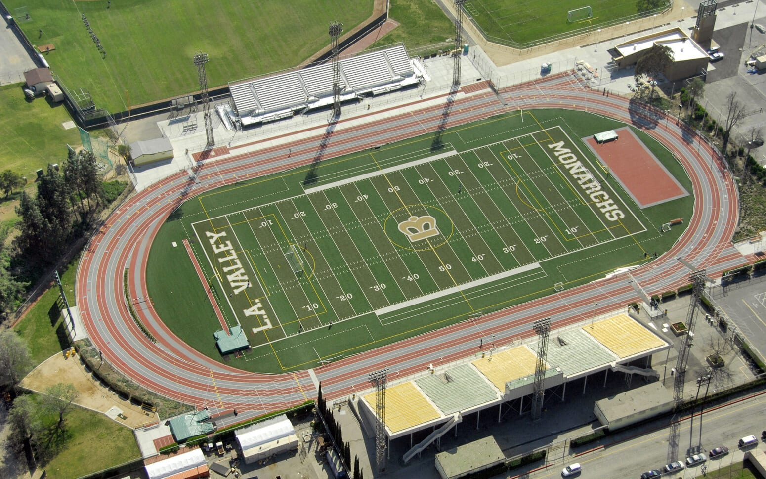 Los Angeles Valley College Synthetic Track and Field